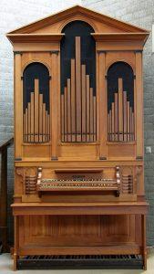 Een tentoonstelling over orgel Hautsweerk