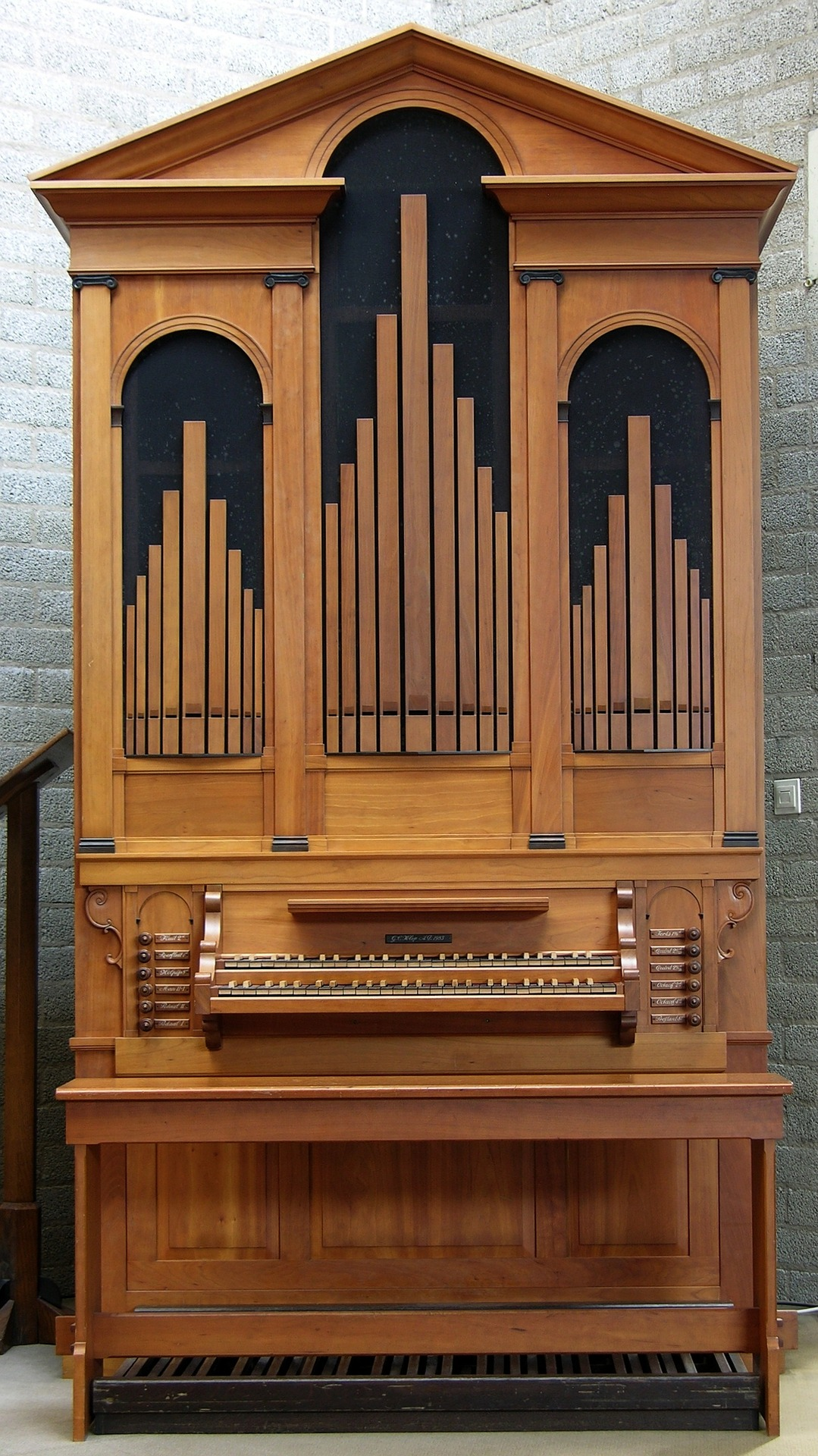 orgel hauptwerk